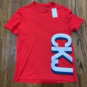 Calvin Klein Jeans Red T Shirt